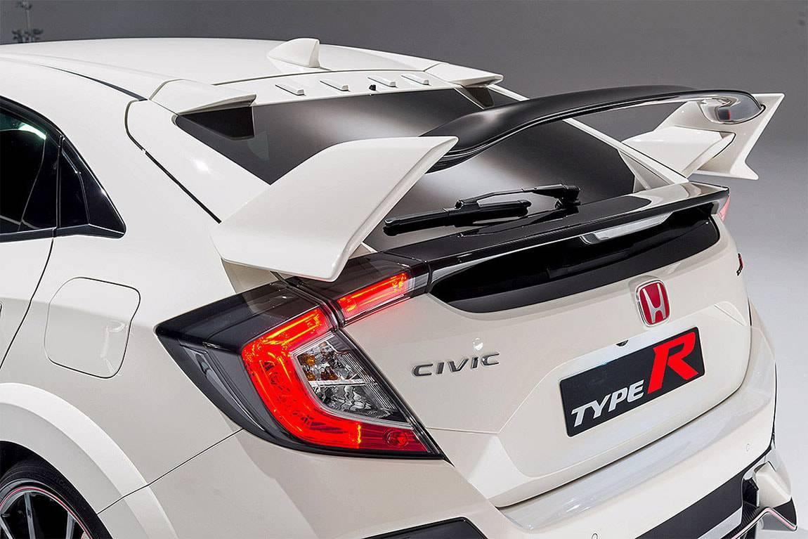 картинки Honda Civic Type R 2017-2018 года