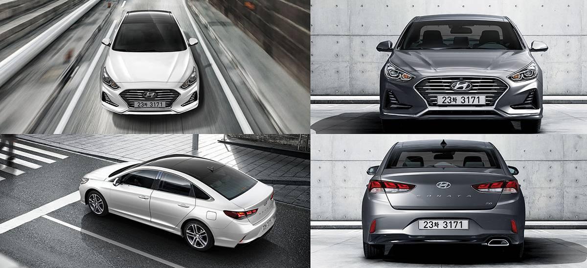 фото Hyundai Sonata 2017-2018 года