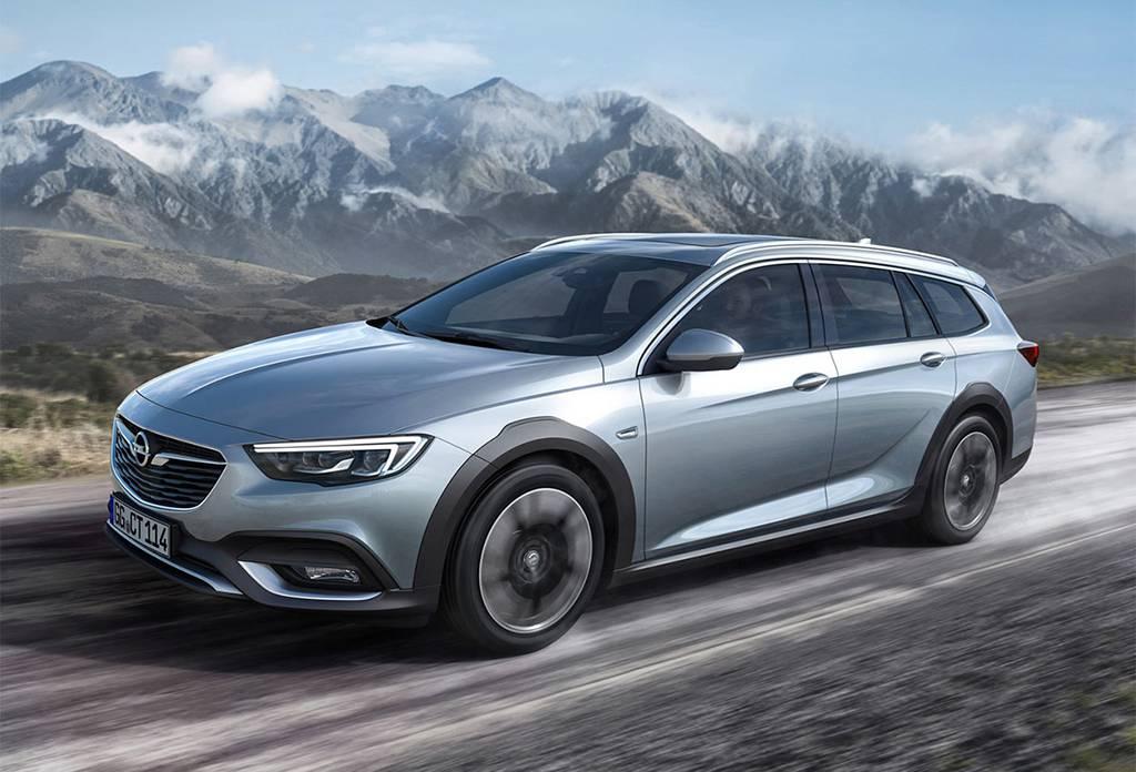 фото Opel Insignia Country Tourer 2017-2018 года вид спереди