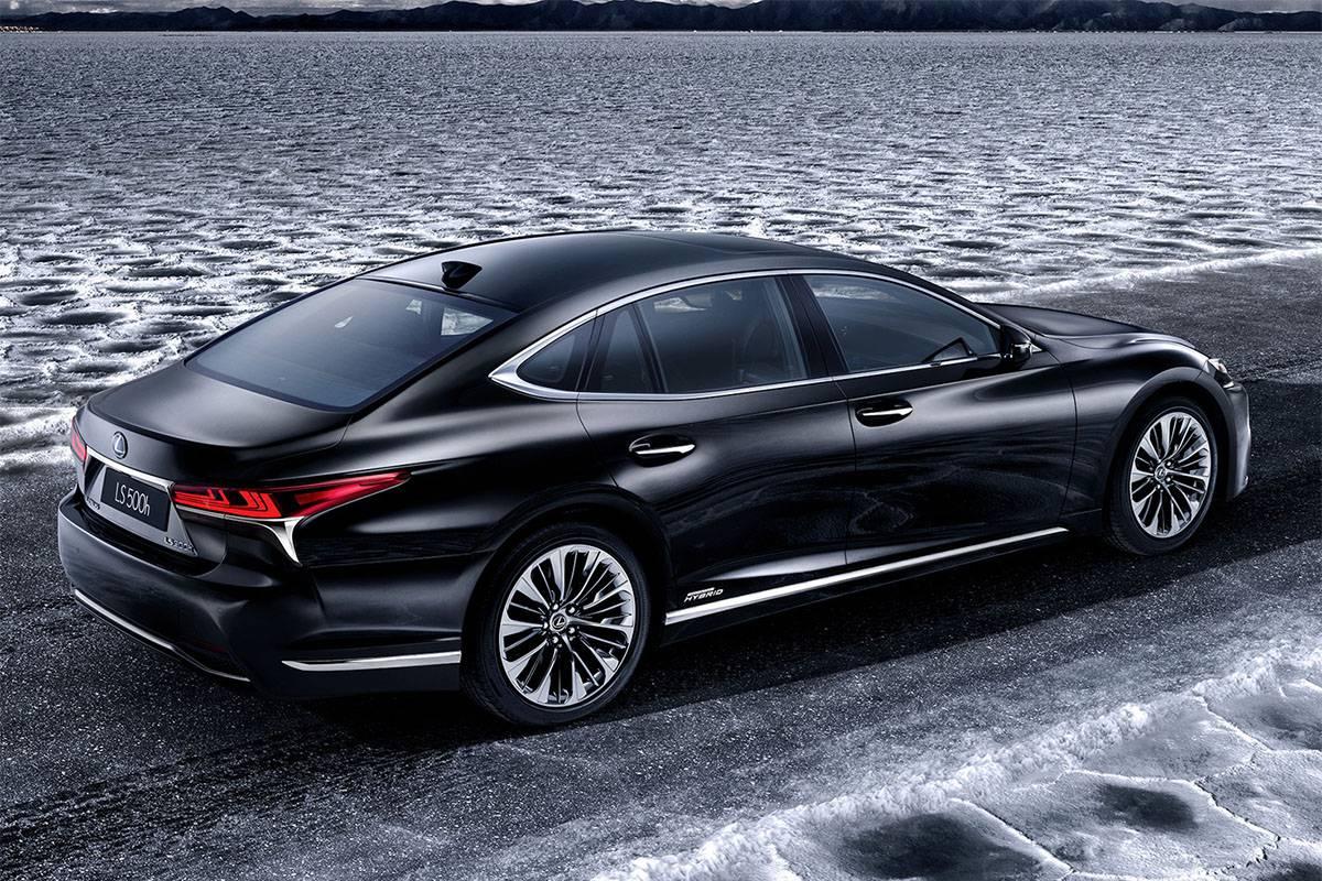 фото Lexus-LS-500h