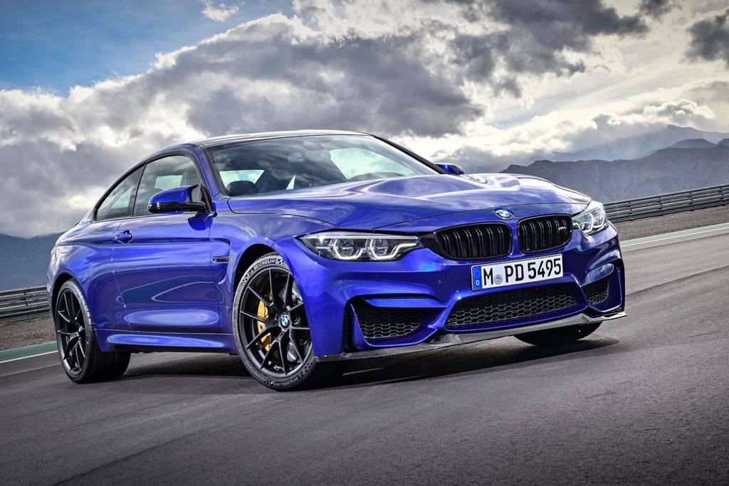 фото BMW M4 CS 2018 вид спереди