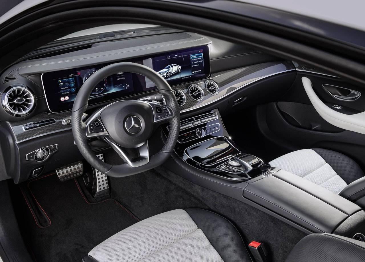 фото салона Mercedes-Benz E-Class Coupe 2017-2018 года