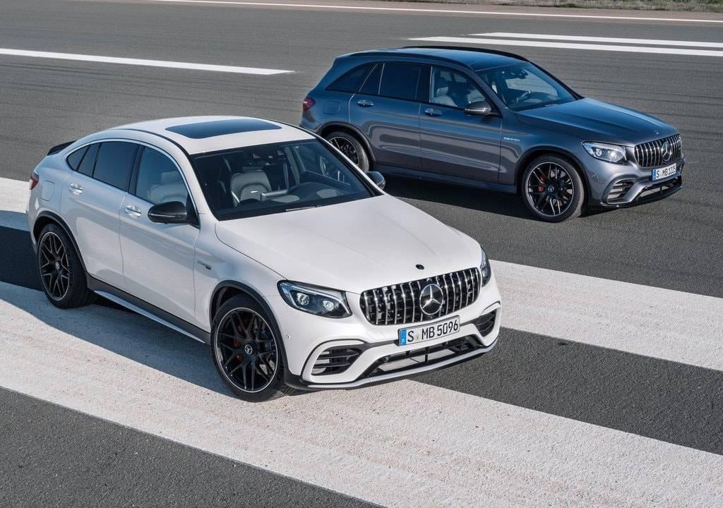 Mercedes-AMG GLC 63 и Mercedes-AMG GLC 63 Coupe 2017-2018 года