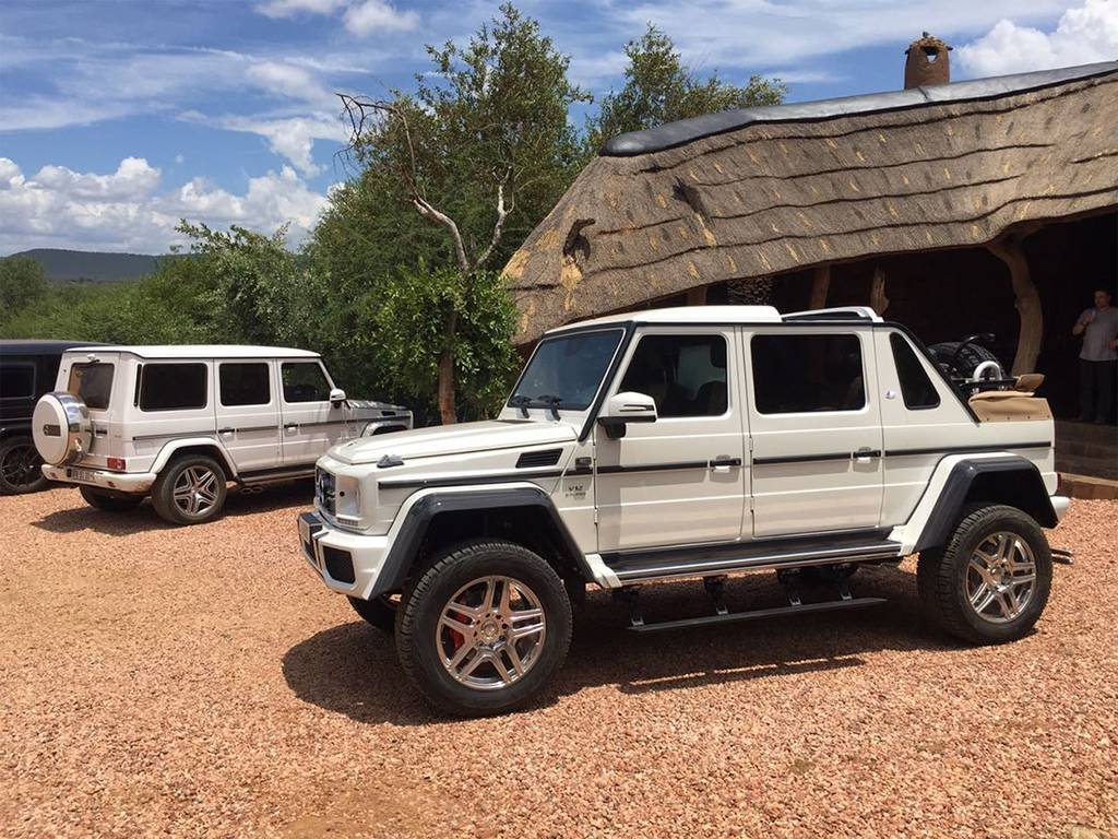 фото Mercedes-Maybach G 650 Landaulet вид сбоку