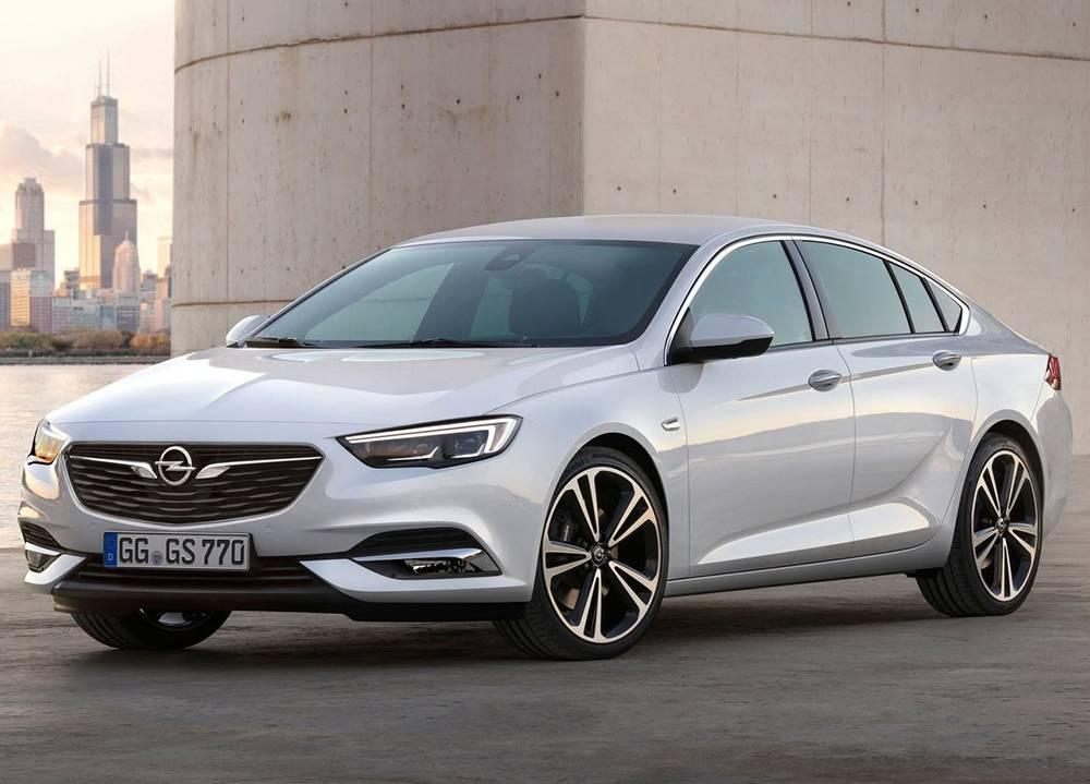 фото Opel Insignia (Опель Инсигния) 2017-2018 года вид спереди