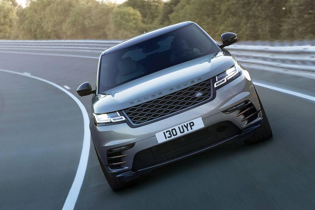 картинки Range Rover Velar 2017-2018 года вид спереди