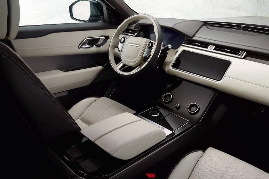 фото салона Range Rover Velar 2017-2018 года