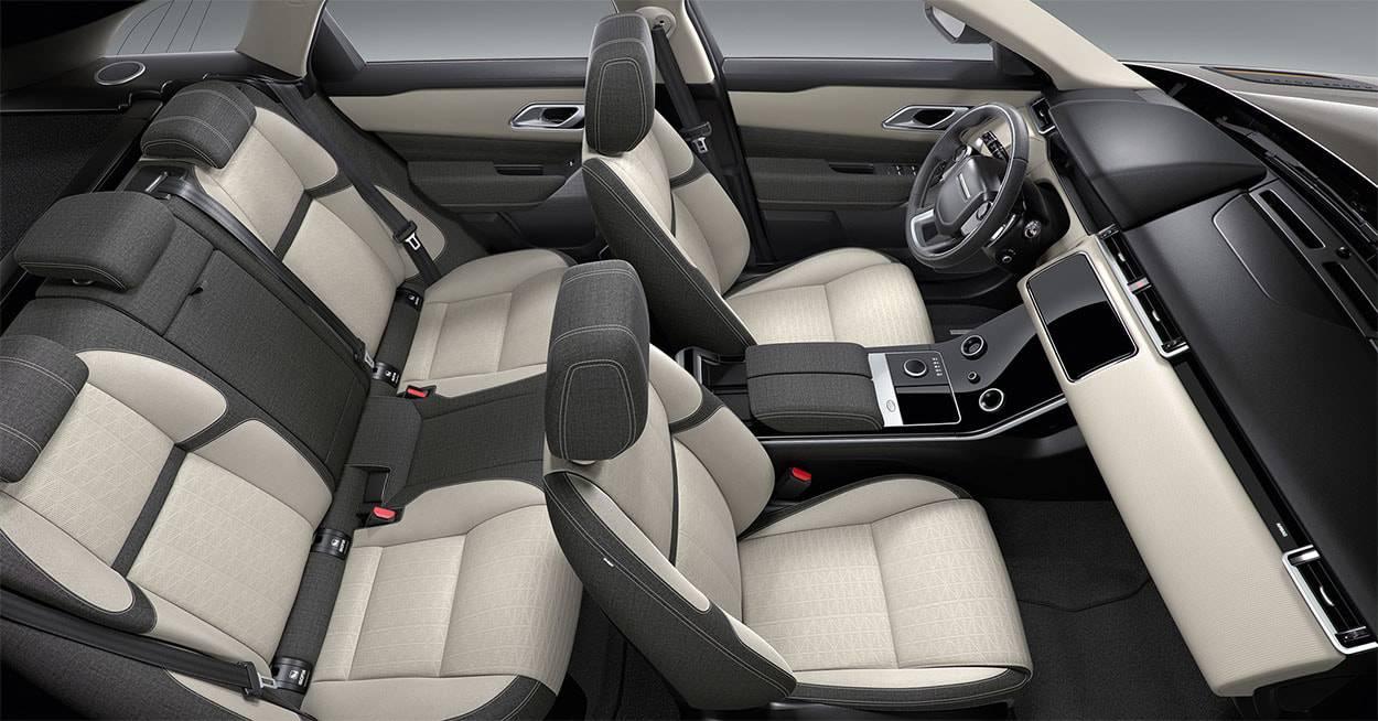 фото интерьера Range Rover Velar 2017-2018 года