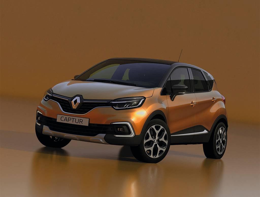 фото Renault Captur 2017 2018 года вид спереди