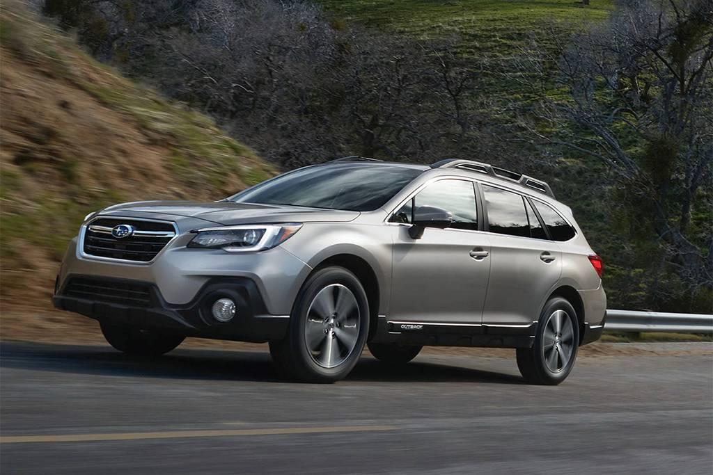 фото Subaru Outback 2018-2019 года