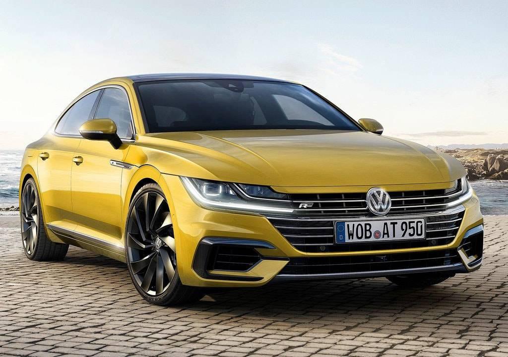 фото Volkswagen Arteon 2017-2018 года вид спереди