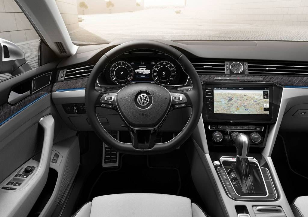 фото салона Volkswagen Arteon 2017-2018 года