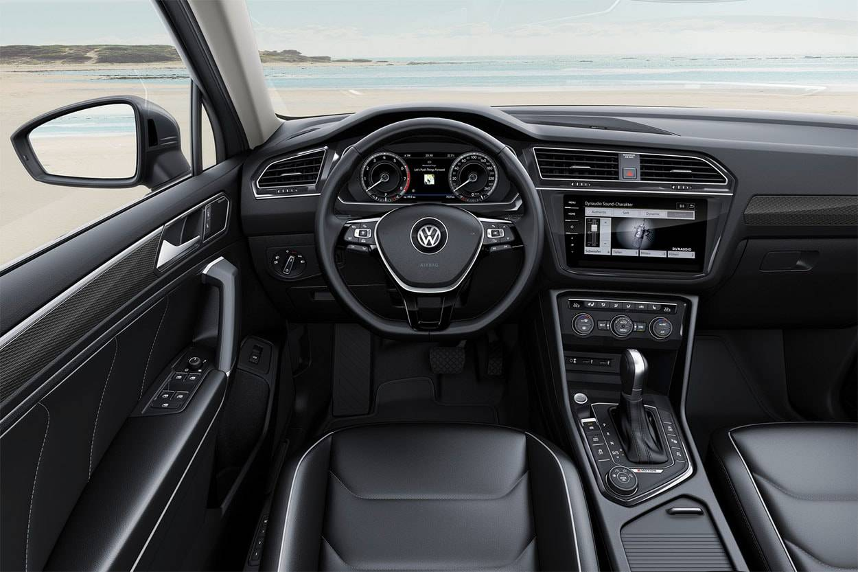 фото салона Volkswagen Tiguan Allspace 2017-2018 года