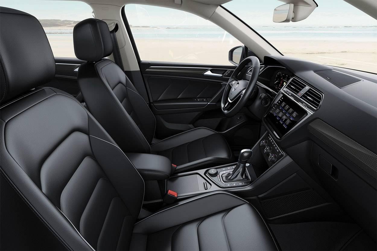 фото интерьера Volkswagen Tiguan Allspace 2017-2018 года