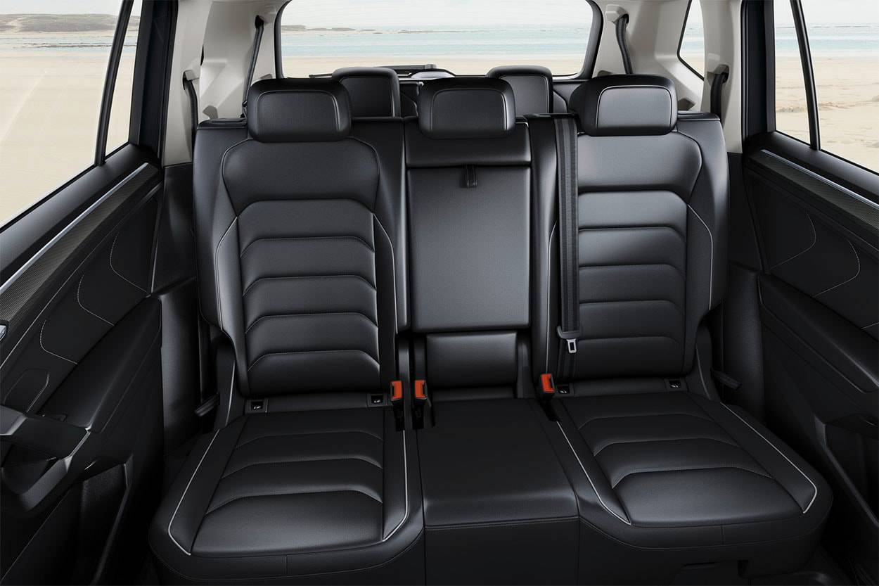 картинки интерьера Volkswagen Tiguan Allspace 2017-2018 года