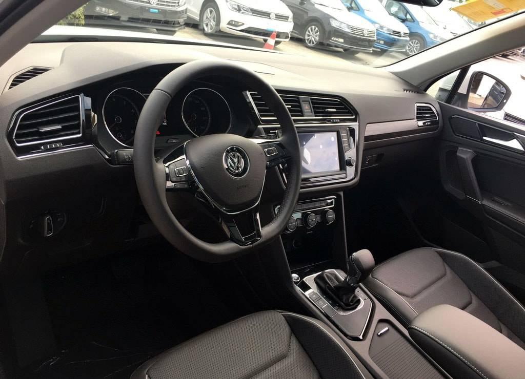 фото салона Volkswagen Tiguan XL 2017-2018 года