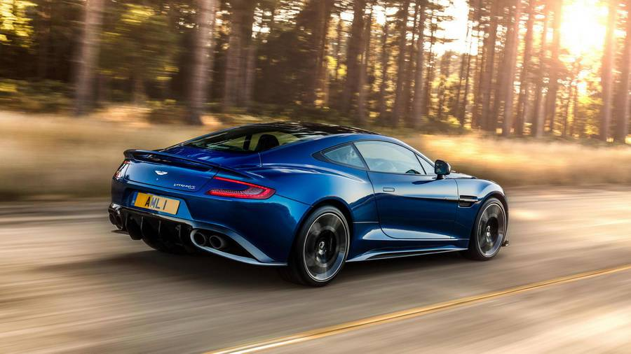 картинки Aston Martin Vanquish S 2017-2018 года