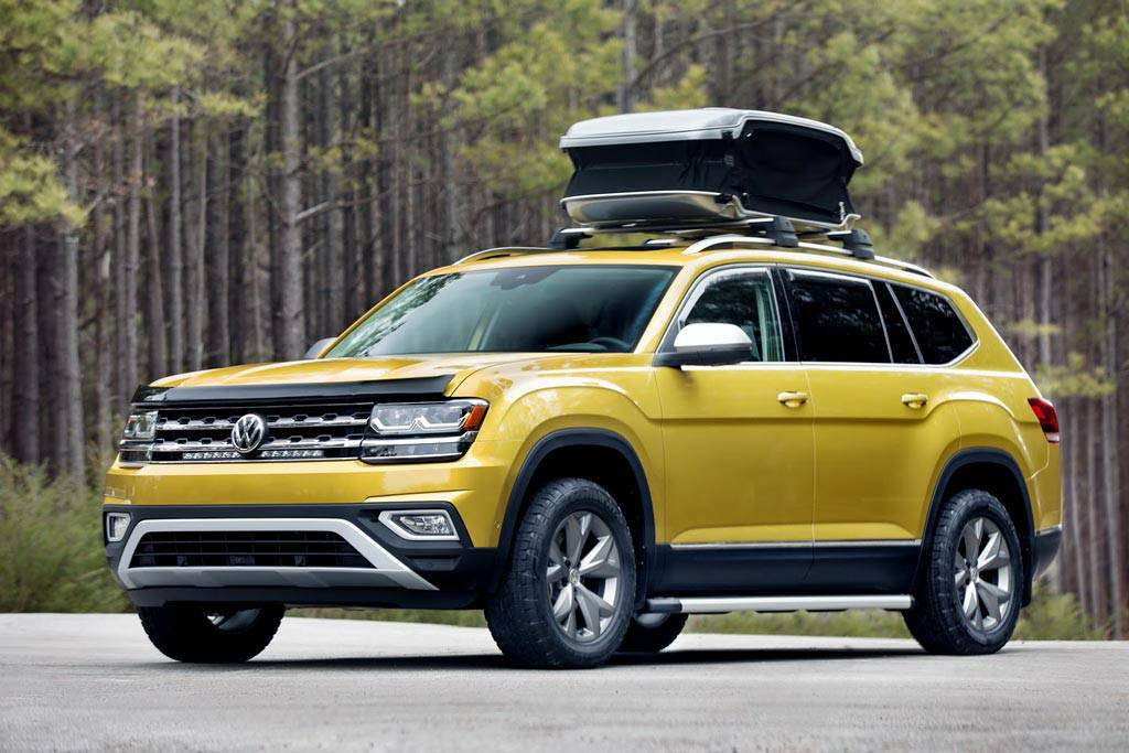 фото Volkswagen Atlas Weekend Edition вид спереди