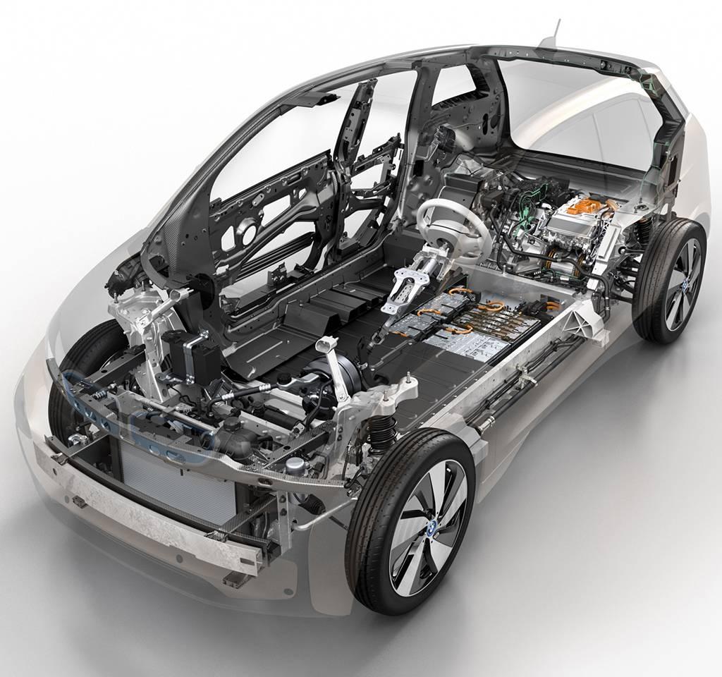 фото конструкции BMW i3 2016-2017