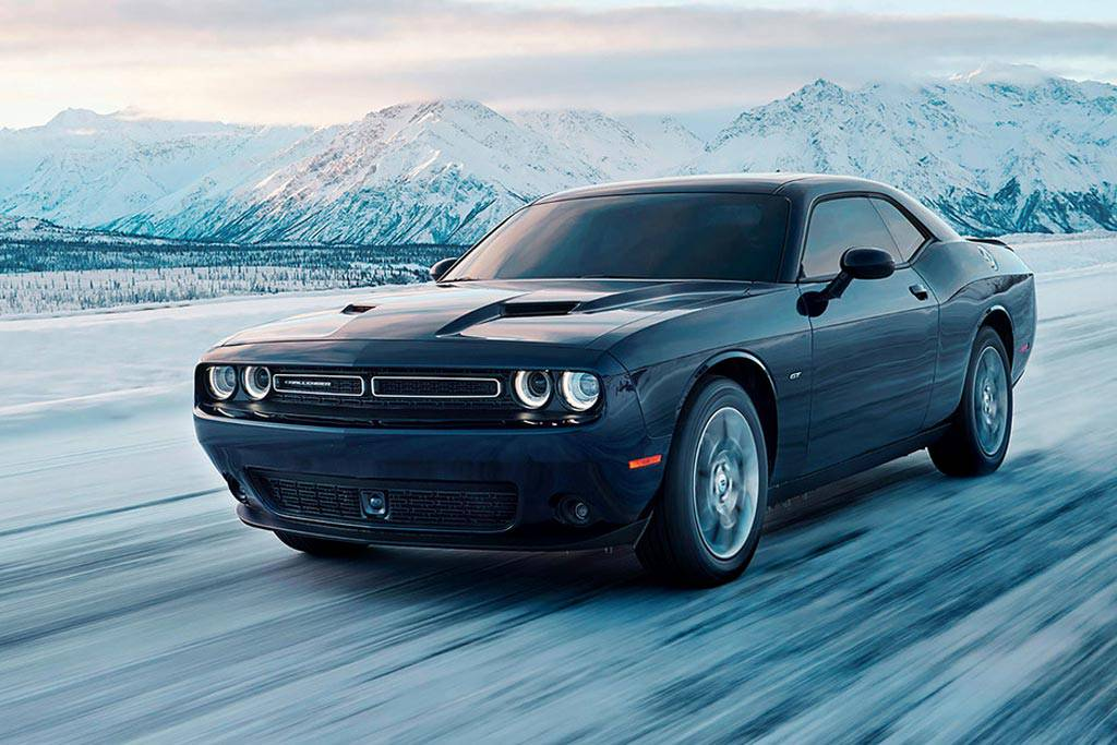 масл-кар Dodge Challenger GT 2017-2018 года