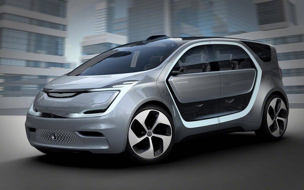 фото Chrysler Portal Concept 2017 вид спереди