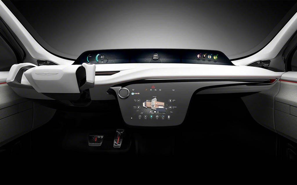 фото салона Chrysler Portal Concept 2017