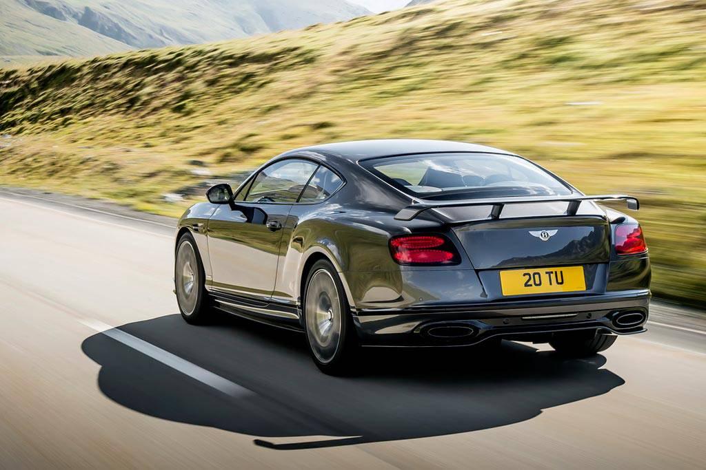 фото Bentley Continental Supersports 2017-2018 вид сзади