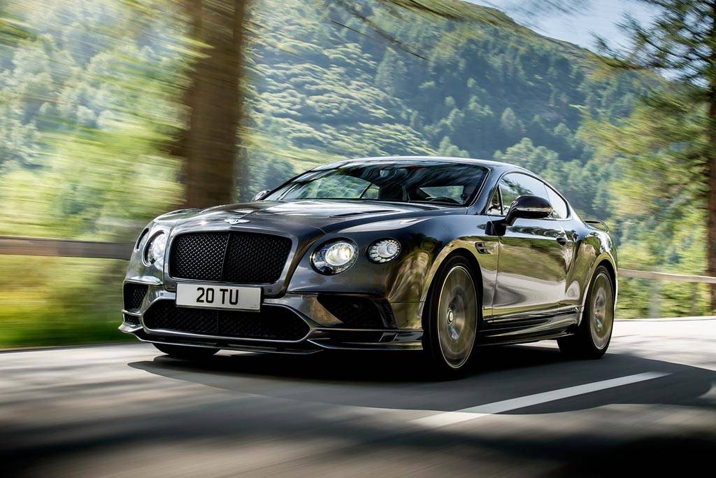 фото Bentley Continental Supersports 2017-2018
