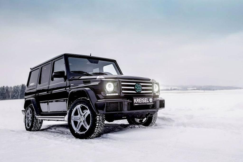 фото электрическиого Mercedes G-Class