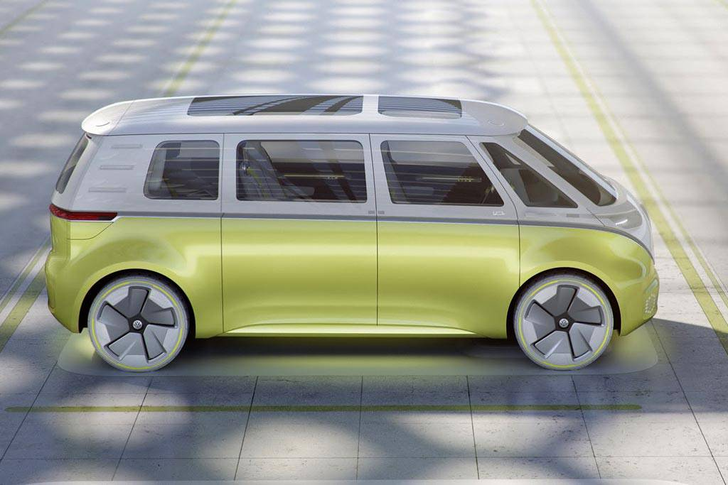 фото Volkswagen I.D. Buzz 2017 вид сбоку