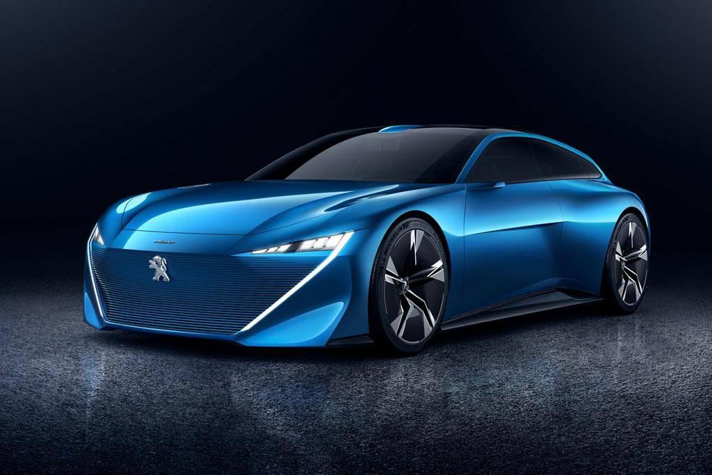 фото Peugeot Instinct Concept 2017 вид спереди