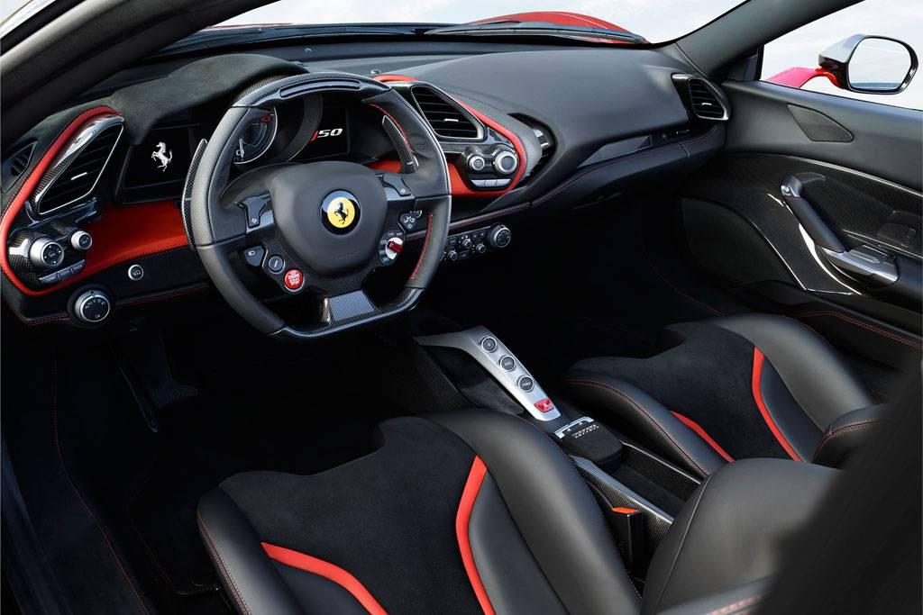 фото салона Ferrari J50