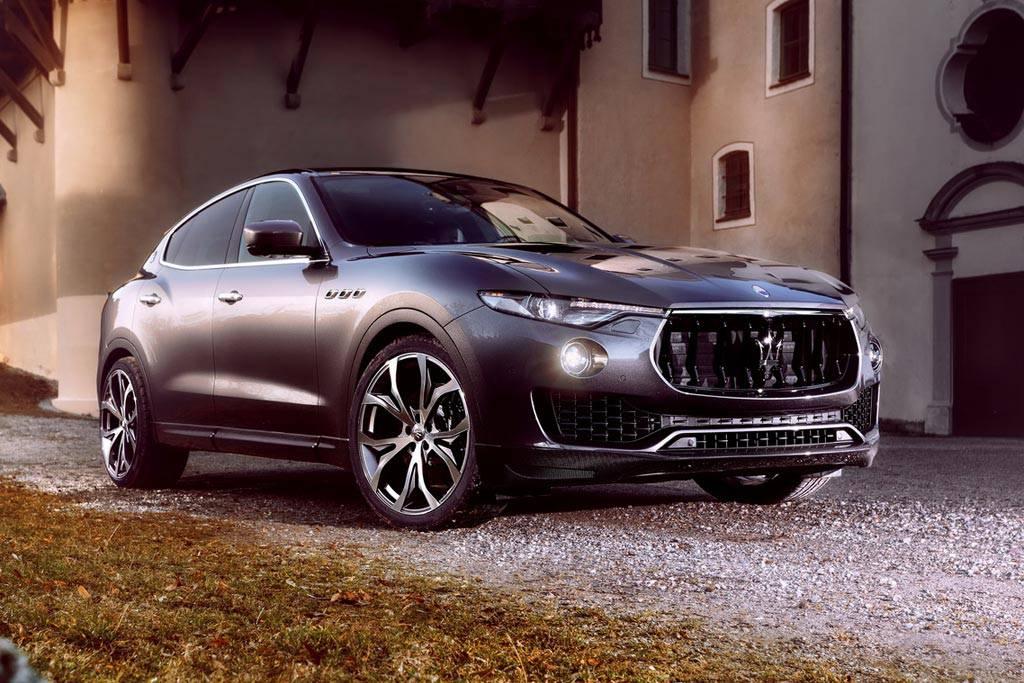фото Maserati Levante от ателье Novitec