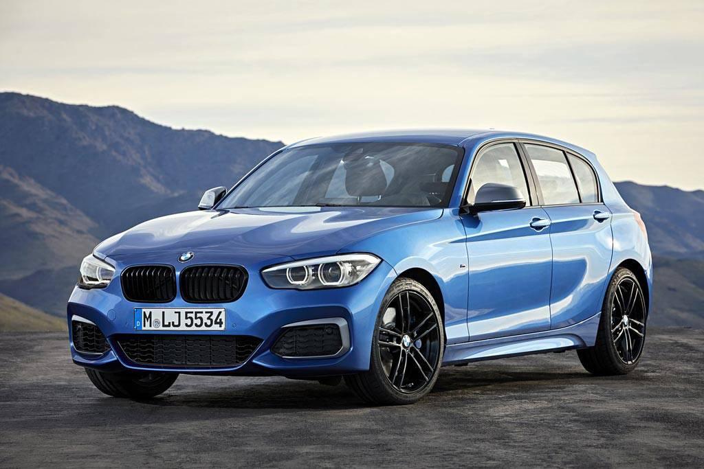 обновленный баварский хэтчбек BMW 1-Series