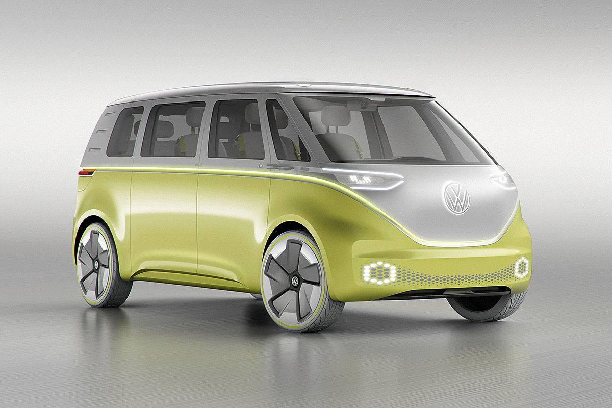 микроавтобус электрокар Volkswagen