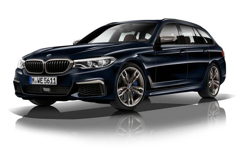 BMW M550d 2018 с самым мощным дизельным мотором