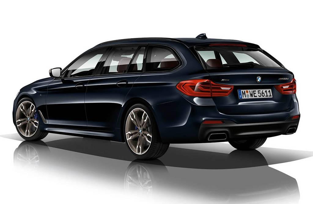 кузов универсала BMW M550d Touring 2018