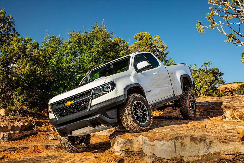 пикап Chevrolet Colorado ZR2