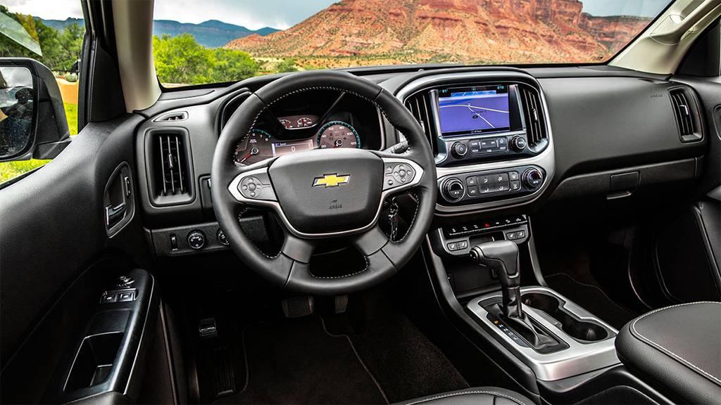 салон Chevrolet Colorado ZR2