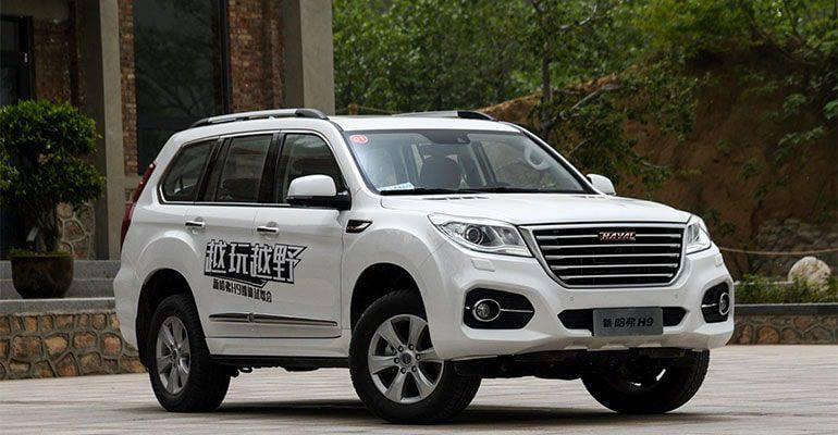 Китайский внедорожник Haval H9 2017-2018 модельного года
