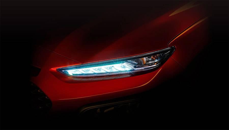 головная оптика Hyundai Kona