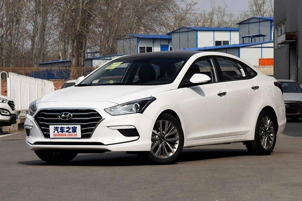 обновленный седан Hyundai Mistra для Китая