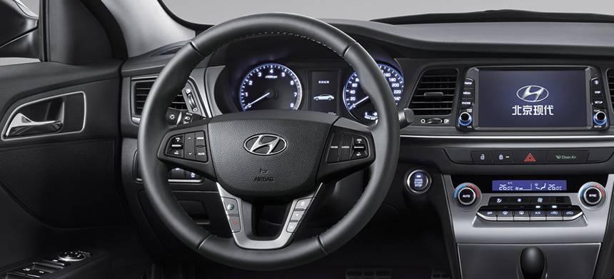 интерьер Hyundai Mistra