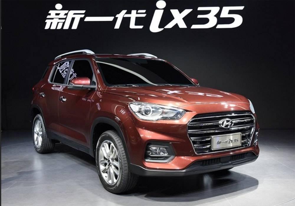 новейший кроссовер Hyundai ix35 2017-2018 года