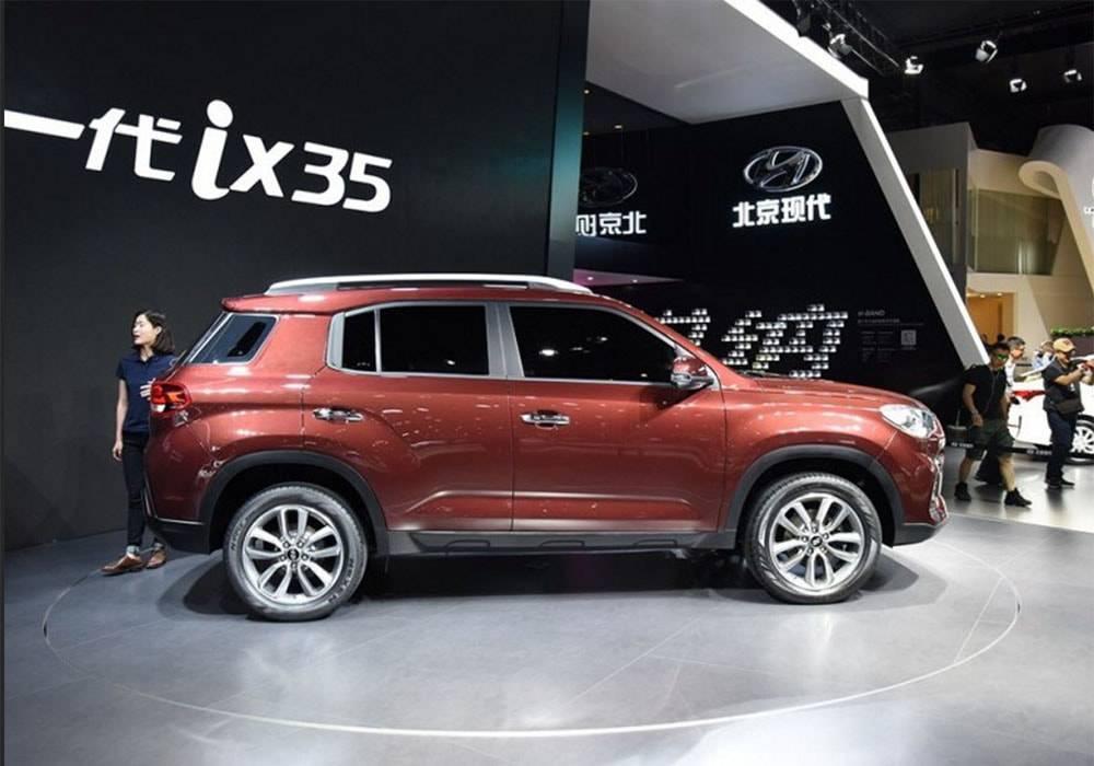 новый кроссовер Hyundai ix35 для китайского рынка