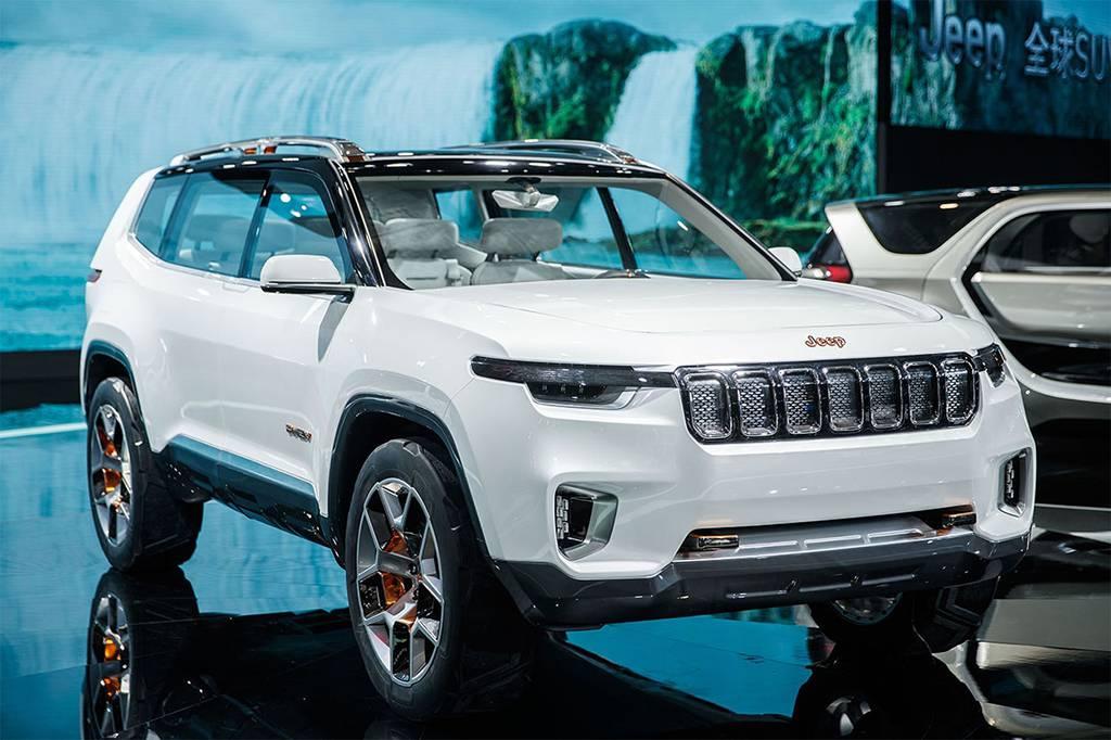 фото Jeep Yuntu Concept 2017 вид спереди