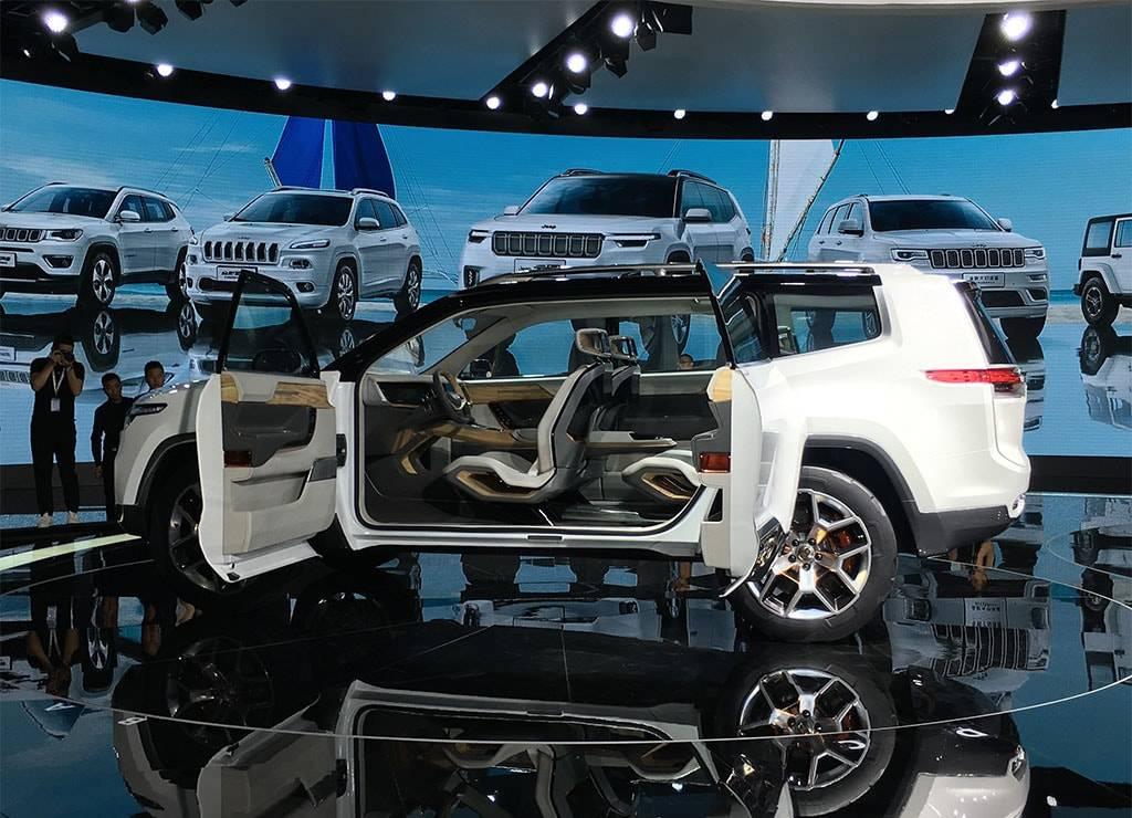 фото распашные двери Jeep Yuntu Concept 2017