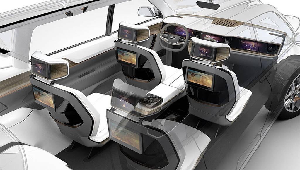 фото интерьера Jeep Yuntu Concept 2017