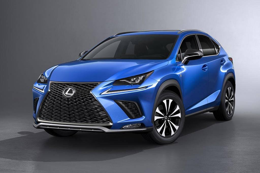 фото Lexus-NX-2018-2019 года