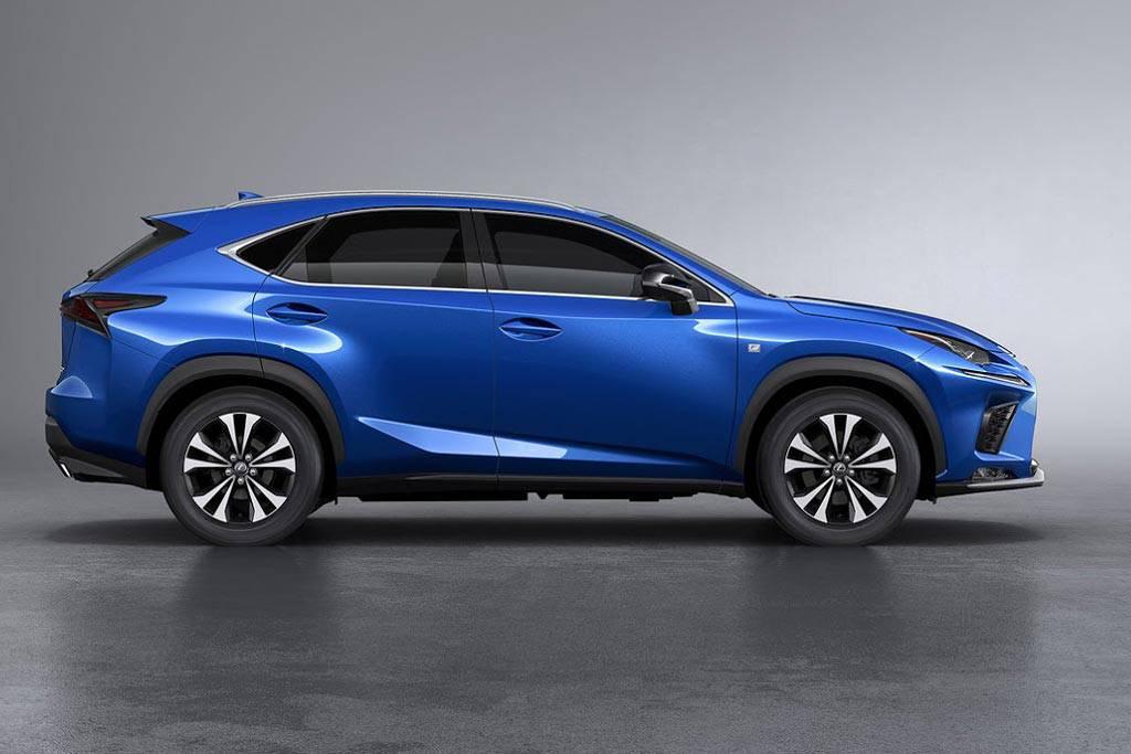 фото Lexus NX 2017-2018 года вид сбоку